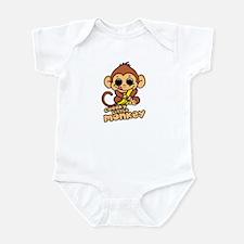 Cheeky Little Monkey Infant Bodysuit