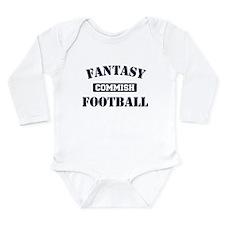 Fantasy Football Commish Long Sleeve Infant Bodysu