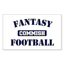Fantasy Football Commish Decal
