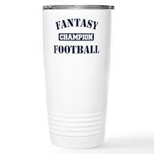 Fantasy Football Champion Travel Mug