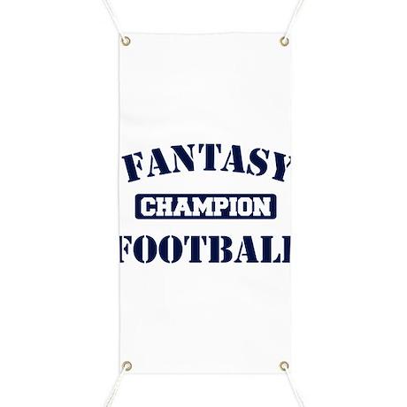 Fantasy Football Champion Banner