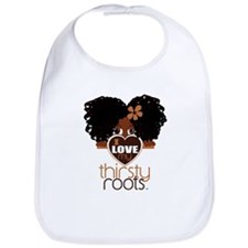 Curly Natural Afro Bib