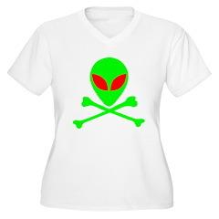 Alien Skull and Bones T-Shirt