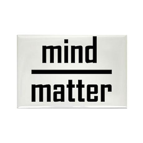 Mind over Matter Rectangle Magnet (10 pack)