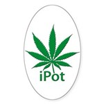 iPot Sticker (Oval 10 pk)