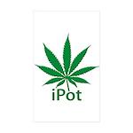 iPot Sticker (Rectangle 10 pk)