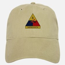 Super Sixth Baseball Baseball Cap