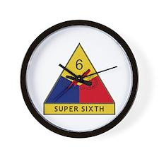 Super Sixth Wall Clock