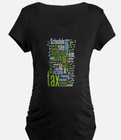 TaxWordle2 Maternity T-Shirt