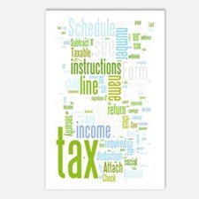 Unique Tax Postcards (Package of 8)
