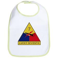 Lucky Seventh Bib