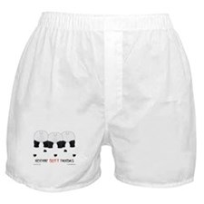 Nothin' Butt Pandas Boxer Shorts