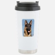 German Shepherd Dog 9Y554D-150 Stainless Steel Tra