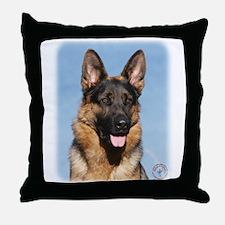 German Shepherd Dog 9Y554D-150 Throw Pillow