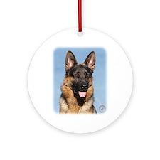 German Shepherd Dog 9Y554D-150 Ornament (Round)