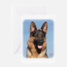 German Shepherd Dog 9Y554D-150 Greeting Card