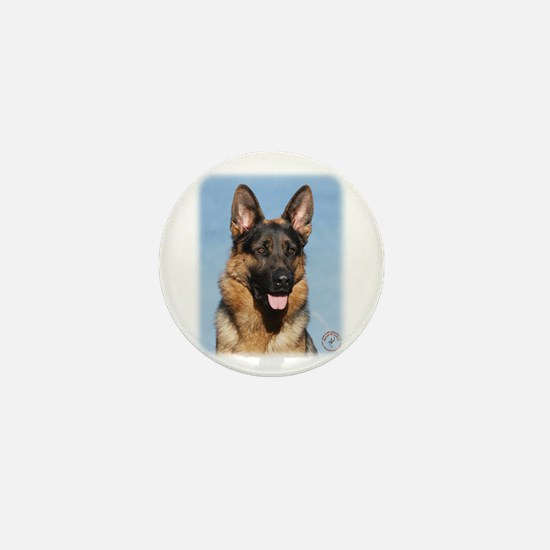 German Shepherd Dog 9Y554D-150 Mini Button