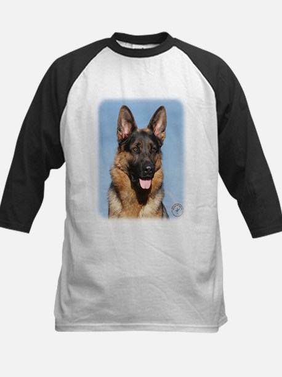 German Shepherd Dog 9Y554D-150 Kids Baseball Jerse