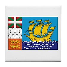 SPM Flag Tile Coaster