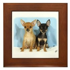 Chihuahuas 9W079D-011 Framed Tile