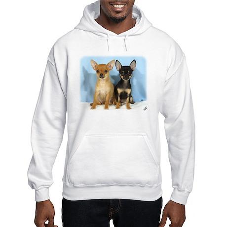 Chihuahuas 9W079D-011 Hooded Sweatshirt
