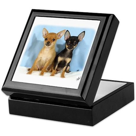 Chihuahuas 9W079D-011 Keepsake Box