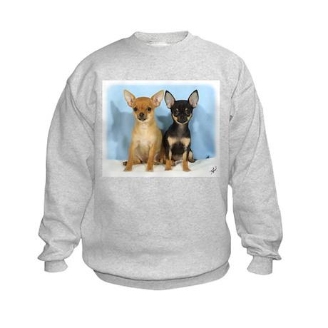 Chihuahuas 9W079D-011 Kids Sweatshirt