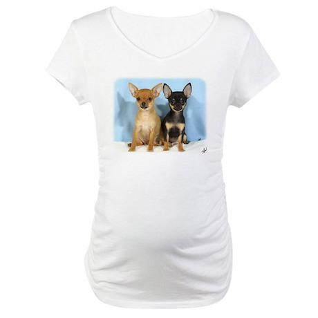 Chihuahuas 9W079D-011 Maternity T-Shirt