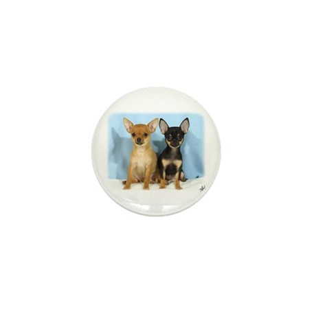 Chihuahuas 9W079D-011 Mini Button