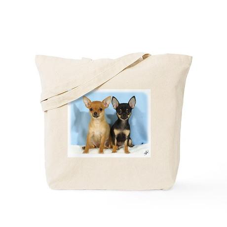 Chihuahuas 9W079D-011 Tote Bag