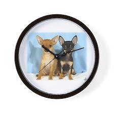 Chihuahuas 9W079D-011 Wall Clock