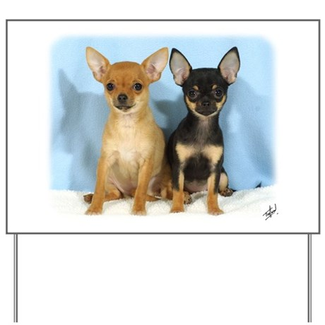 Chihuahuas 9W079D-011 Yard Sign