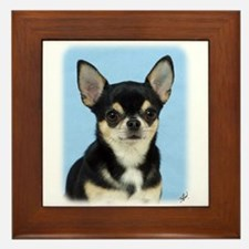 Chihuahua 9W092D-057 Framed Tile