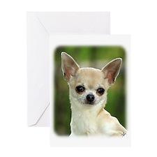 Chihuahua 9P93D-123 Greeting Card