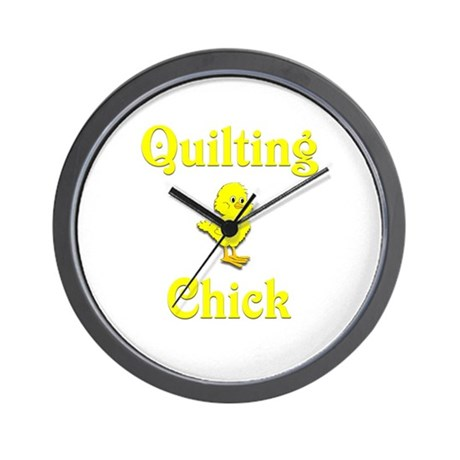 Quilting Chick Wall Clock