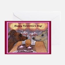 Funny Warriors in pink Greeting Cards (Pk of 20)