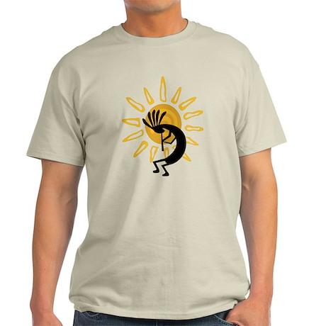 Hopi Kokopelli Gold Light T-Shirt