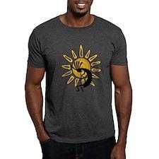 Hopi Kokopelli Gold T-Shirt