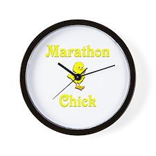 Marathon Chick Wall Clock