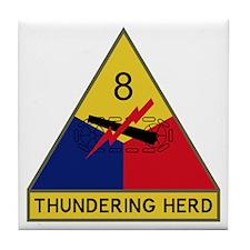 Thundering Herd Tile Coaster
