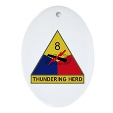 Thundering Herd Ornament (Oval)