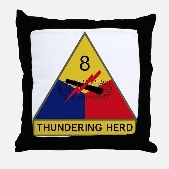 Thundering Herd Throw Pillow
