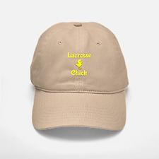 Lacrosse Chick Baseball Baseball Cap