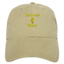 Lacrosse Chick Baseball Cap