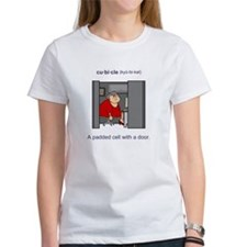 Women's Cubicle (female) T-Shirt