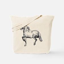 Horse Art IIlustration Tote Bag