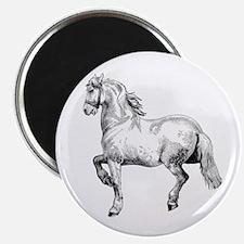 Horse Art IIlustration Magnet