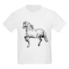 Horse Art IIlustration T-Shirt