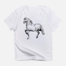 Horse Art IIlustration Infant T-Shirt