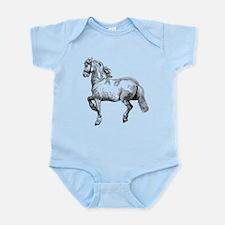 Horse Art IIlustration Infant Bodysuit